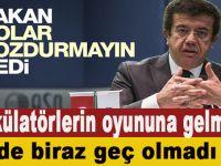 Ekonomi Bakanı Zeybekçi'den dolar bozdurmayın uyarısı!