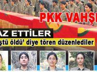 """Kaçan PKK'lı itiraf etti; """"Ölüme terk edip katlettiler, sonra da böyle tören düzenlediler!"""""""