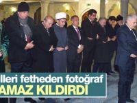 Başbakan Binali Yıldırım Tataristan'da namaz kıldırdı