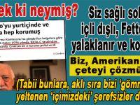 FETÖ elebaşı Fetullah Gülen 1996 yılında, İBDA-C tarafından tehdit edildiğini öne sürdü.