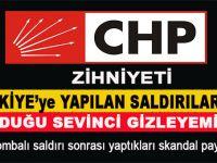 CHP, İstanbul'daki saldırıdan duyduğu sevinci gizleyemedi!