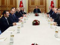 İstanbul'da Cumhurbaşkanı Erdoğan başkanlığında güvenlik zirvesi!