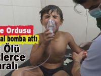 Suriye ordusu Hama'da kimyasal silahla saldırdı: 85 ölü