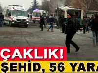 Kayseri'de bombalı saldırı: 14 şehit 56 yaralı