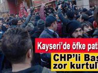Kayseri'de gerginlik; CHP'li Başkan zor kurtuldu!