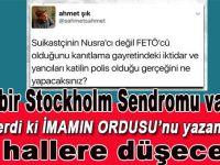 Tipik bir Stockholm sendromu vakası; Ahmet Şık-FETÖ