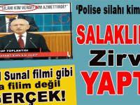 """Kemal Sunal filmi gibi, ama film değil gerçek; Kılıçdaroğlu: """"Silahı kim verdi?"""""""