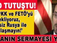 """""""Biz PKK ve FETÖ'yü destekliyoruz, ama siz Rusya ile yakınlaşmayın!"""""""