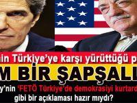ABD'nin Türkiye'ye karşı yürüttüğü politika tam bir şapşallığı sergiliyor.