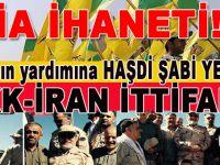 PKK'ya yardıma Haşdi Şabi koştu!