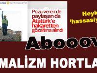 Heykel hassasiyeti; Kemalizm hortladı!
