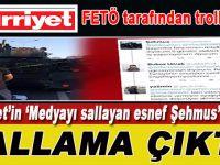 """Hürriyet'in """"Medyayı sallayan Şehmus"""" haberi sallama çıktı!"""