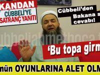 Cübbeli Ahmet'ten Ömer Çelik'e 'satranç' cevabı;  FETÖ'nün oyunlarına alet olmayın