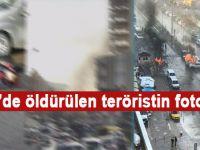 İzmir'de öldürülen teröristin fotoğrafı!