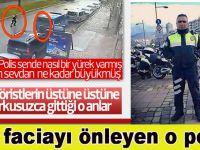 İşte faciayı önleyen o polis; Fethi Sekin!