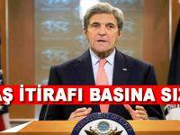 ABD Dışişleri Bakanı Kerry'nin DEAŞ itirafı basına sızdı