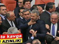 Meclis'te kavga; Azgın azınlık barikat kurdu!