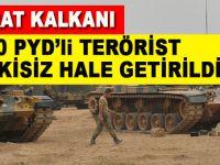Fırat Kalkanı Harekatı'nda 1775 DEAŞ'lı ve 310 PKK/PYD'li etkisiz hale getirildi