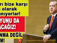 """Cumhurbaşkanı Erdoğan; """"Döviz oyununu bozacağız!"""""""