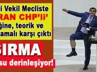 """CHP'li Ali Şeker Meclis'te """"Isıran CHP'li vekil"""" pratiğini bacak üzerinden yalanladı!"""
