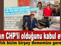 Çocukları taciz etmekten tutuklanan sapığın CHP'li olduğunu kabul ettiler!