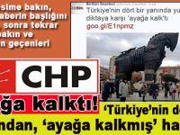 """CHP'liler """"Türkiye'nin dört bir yanında diktaya karşı"""" ayağa kalktı!"""