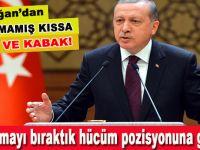 Cumhurbaşkanı Erdoğan: Haddini bileceksin. Haddini bilmediğin zaman da haddini sana bildirirler!