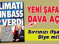 """""""Sırrımızı ifşa ettin"""" der gibi; Kılıçdaroğlu Yeni Şafak'a dava açtı"""