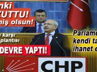 Anayasa değişikliği teklifinin kabul edilmesi Kılıçdaroğlu'nun akıl ve ruh sağlığını bozdu!
