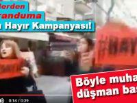 CHP'lilerden Danslı Referanduma Hayır kampanyası!