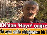 """Terör örgütü PKK'dan referandum için """"hayır"""" çağrısı"""