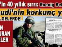40 yıldır saklanan sır; Yahudi'nin korkunç yüzü; Koenig belgeleri!