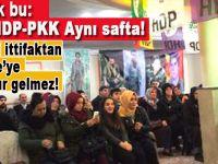 CHP-HDP-PKK Aynı safta; Bu kirli ittifaktan Türkiye'ye bir hayır gelmez!