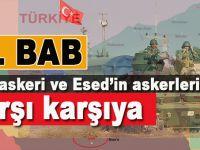 El Bab'da Türk askeri ve Suriye askeri karşı karşıya!