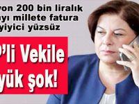 """Milyonluk faturayı millete """"fatura"""" eden CHP'li vekile büyük şok!"""