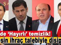 MHP'de 'Hayırlı' temizlik; Kesin ihraç talebiyle disipline sevkedildiler!