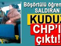 Başörtülü öğrenciye saldıran kuduz saldırgan CHP'li çıktı!