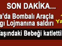 Son dakika; Şanlıurfa'da bombalı araçla saldırı!