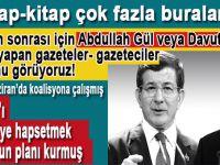 16 Nisan sonrası için Abdullah Gül'e ya da Ahmet Davutoğlu'na yatırım yapan gazeteler ya da gazeteciler olduğunu görüyoruz