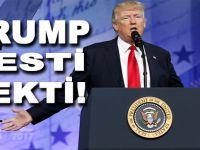 Trump resti çekti!