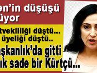 Figen Yüksekdağ'ın düşüşü sürüyor; O artık sade bir Kürtçü...