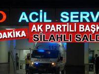 Son dakika: Hakkari'de AK Partili başkana silahlı saldırı
