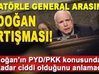 ABD'deki Cumhuriyetçi Senatör McCain ile General Votel arasında Erdoğan tartışması!