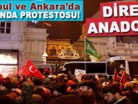 İstanbul ve Ankara'da Hollanda'ya karşı protesto!