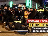 """Hollanda polisine """"Osmanlı tokadı""""nı hatırlatan Türk tekmesi!"""