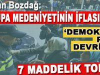 7 Maddelik tokat; Demokrasi putu devrildi!