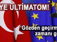 """AB Bakanı Çelik; """"Gözden geçirmenin zamanı geldi!"""""""