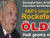 Sömürgeciliğin ağababası ABD'li ünlü milyarder David Rockefeller öldü