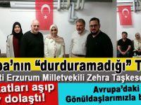 Avrupa'nın durduramadığı Türk; Zehra Taşkesenlioğlu İsviçre'de!