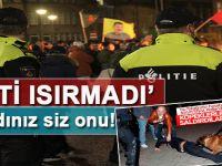 Müslüman Türk'ü 'ısıran' Hollanda, PKK'lılara dokunmadı!